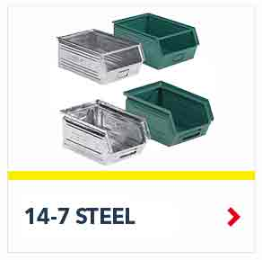 Schaefer 14 7 Steel Bins to support the toughest requirements, by SSI Schaefer