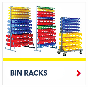Free Standing Bin Rack for the storage of Small Parts