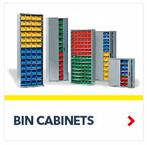 Bin Cabinets keep all your small parts organized and ready to use