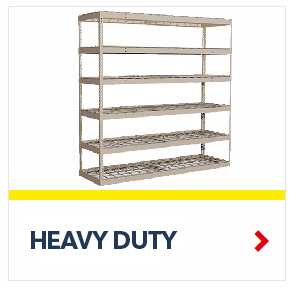 Heavy Duty Rivet Shelving for Warehouse, Industrial, Office , Everyday applications, from SSI Schaefer