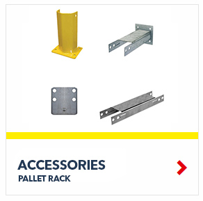 Pallet Rack Shelving Accessories for all your palletized storage requirements in your warehouse, from SSI Schaefer