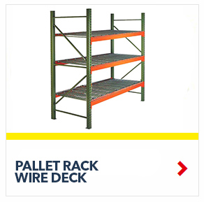 Pallet Rack Wire Decking to build your custom unit, from SSI Schaefer
