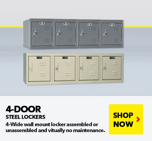 Single Column Steel Lockers for all your School, Wardrobe, Locker Room needs, from SSI Schaefer