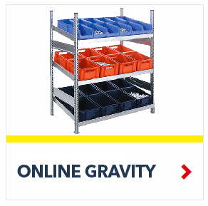 Heavy Duty Shelving Units Industrial and Warehouse Storage applications, by SSI Schaefer