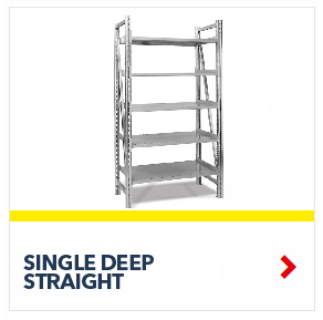 Single Deep On-Line Straight Gravity Shelving for all your assembly line picking and storage needs, by SSI Schaefer