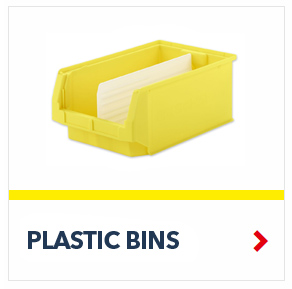 Plastic Bins for the daily storage of small parts, by SSI Schaefer