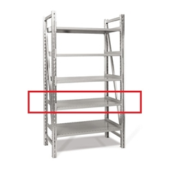 Single Deep Extra Shelves On-Line Shelving by SSI Schaefer