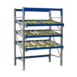 KDR Gravity Flow Rack Shelving Starter Unit by SSI Schaefer