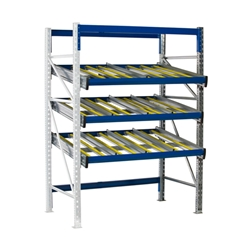 KDR Gravity Flow Rack Shelving Add-on Unit by SSI Schaefer