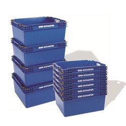 KF Stack & Nest Containers by SSI Schaefer