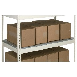 Medium Duty Extra Shelves with Steel Decking from SSI Schaefer