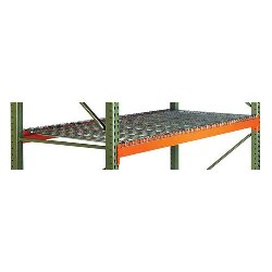 Pallet Rack Beam Level with Wire Decking from SSI Schaefer