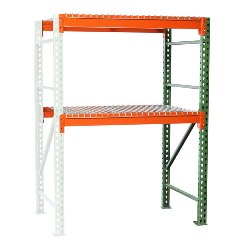 Pallet Rack Shelving with Wire Decking Add-on from SSI Schaefer