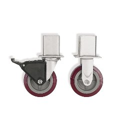 On-Line Shelving Swivel Caster by SSI Schaefer