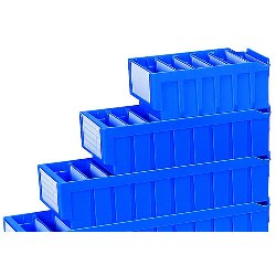 Plastic Shelf Bin Dividers by SSI Schaefer