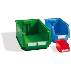 Plastic Stackable Bin by SSI Schaefer