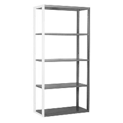 R4000 Extra Heavy Duty Shelving Add-on Wall Units by SSI Schaefer
