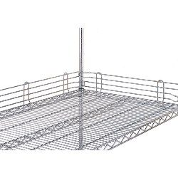 Wire Shelving Ledges from SSI Schaefer