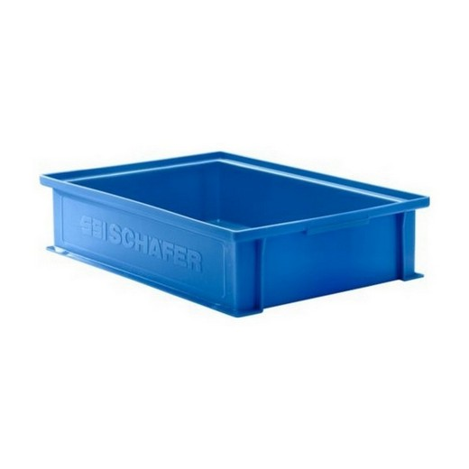 "Looking: 19""L x 13""W x 04""H 14-6 Straight Wall Stacking Plastic Bins 