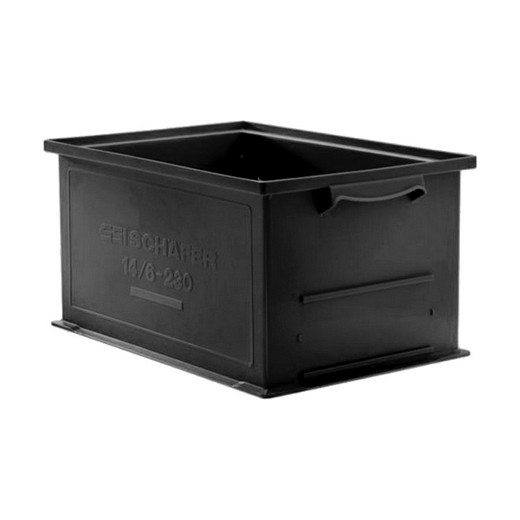 "Looking: 13""L x 19""W x 09""H 14-6 Straight Wall Stacking Conductive Containers 