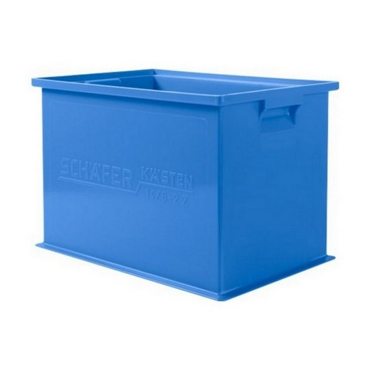 "Looking: 19""L x 13""W x 12""H 14-6 Straight Wall Stacking Plastic Bins 