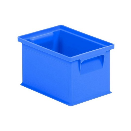 "Looking: 08""L x 06""W x 05""H 14-6 Straight Wall Stacking Plastic Bins 