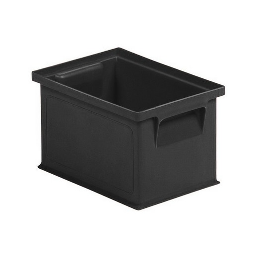 "Looking: 06""L x 08""W x 05""H 14-6 Straight Wall Stacking Conductive Containers 