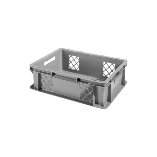 "Looking: EF stackable Container Solid Base/Mesh Sides  16""L x 12""W x 05""H  