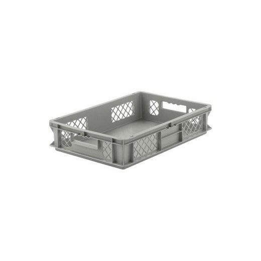 "Looking: EF stackable Container Solid Base/Mesh Sides  24""L x 16""W x 05""H  