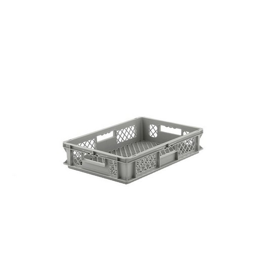 "Looking: EF Stackable Container Mesh Base/Sides 24""L x 16""W x 05""H  