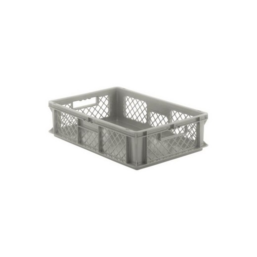"Looking: EF stackable Container Solid Base/Mesh Sides  24""L x 16""W x 06""H  