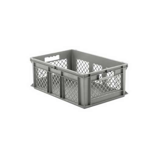 "Looking: EF stackable Container Solid Base/Mesh Sides  24""L x 16""W x 09""H  