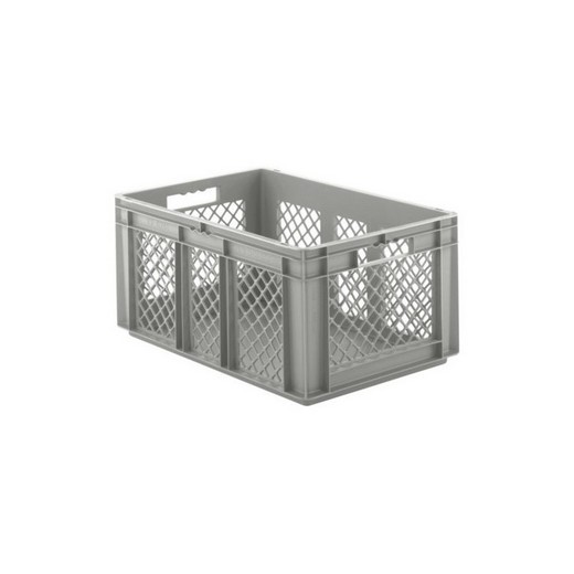 "Looking: EF stackable Container Solid Base/Mesh Sides  24""L x 16""W x 11""H  