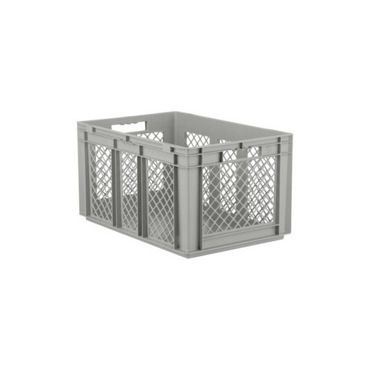 "Looking: EF stackable Container Solid Base/Mesh Sides  24""L x 16""W x 13""H  