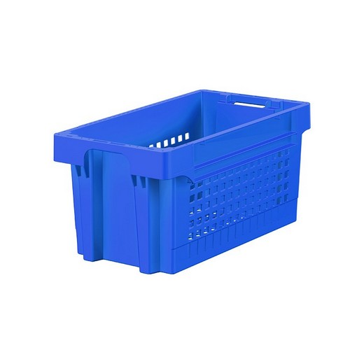 "Looking: 24""L x 16""W x 16""H EFB Heavy Duty Container Mesh Base/Solid Sides 