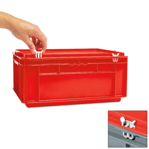 Looking: EF Plastic Clip for EFD Hinged Lid | By Schaefer USA. Shop Now!