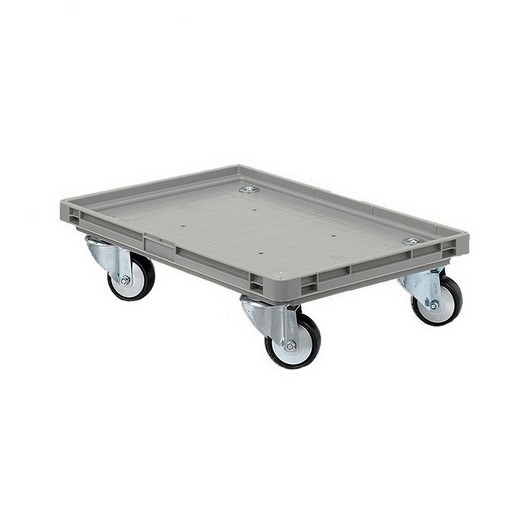 "Looking: EF Roll Trolley Plastic Wheels 24""L x 16""W x 05""H  