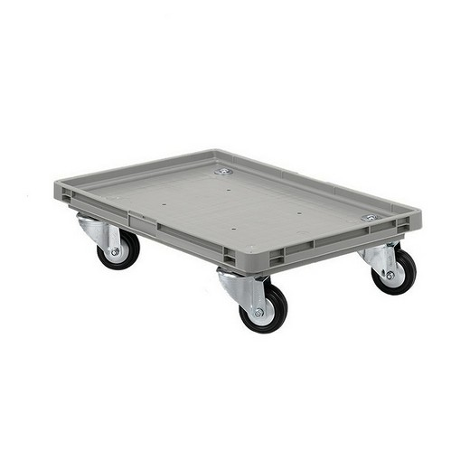"Looking: EF Roll Trolley Rubber Wheels 24""L x 16""W x 05""H  