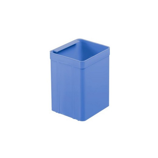 "Looking: 02""L x 03""W x 04""H  EK Plastic Insert Boxes Sub-Containers Blue 
