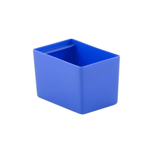 "Looking: 05""L x 03""W x 03""H  EK Plastic Insert Boxes Sub-Containers Blue 