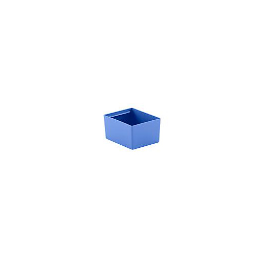 "Looking: 06""L x 05""W x 03""H  EK Plastic Insert Boxes Sub-Containers Blue 