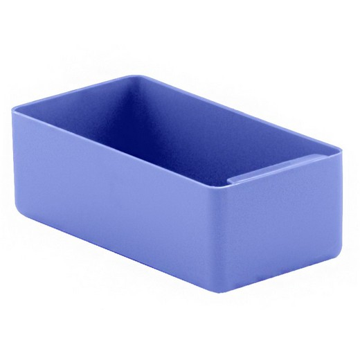 "Looking: 07""L x 03""W x 02""H  EK Plastic Insert Boxes Sub-Containers Blue 
