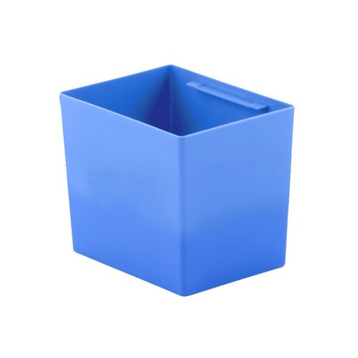 "Looking: 08""L x 05""W x 06""H  EK Plastic Insert Boxes Sub-Containers Blue 