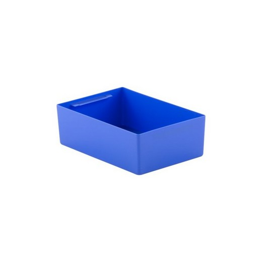 "Looking: 10""L x 07""W x 03""H  EK Plastic Insert Boxes Sub-Containers Blue 