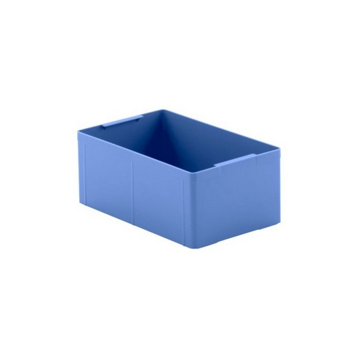 "Looking: 11""L x 07""W x 04""H  EK Plastic Insert Boxes Sub-Containers Blue 