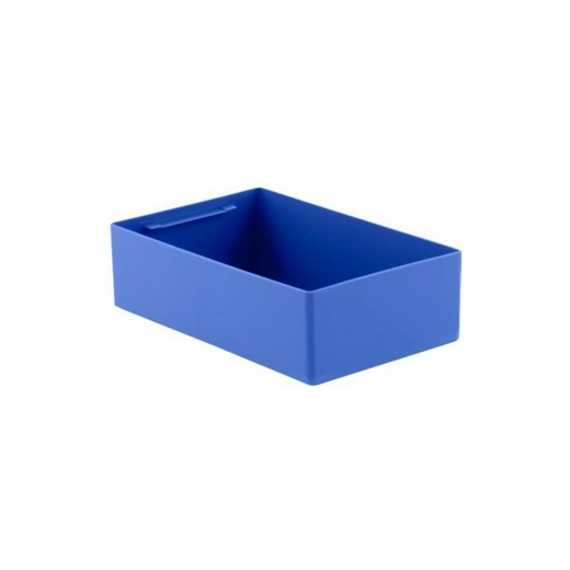 "Looking: 11""L x 08""W x 03""H  EK Plastic Insert Boxes Sub-Containers Blue 