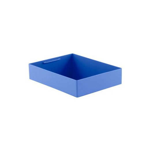 "Looking: 14""L x 11""W x 03""H  EK Plastic Insert Boxes Sub-Containers Blue 