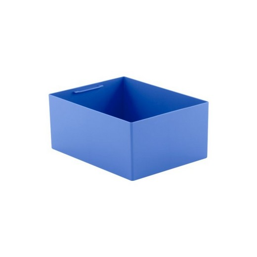 "Looking: 14""L x 11""W x 06""H  EK Plastic Insert Boxes Sub-Containers Blue 