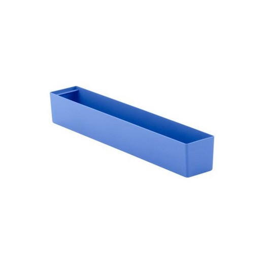 "Looking: 22""L x 03""W x 03""H  EK Plastic Insert Boxes Sub-Containers Blue 