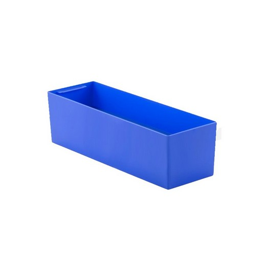 "Looking: 22""L x 08""W x 06""H  EK Plastic Insert Boxes Sub-Containers Blue 
